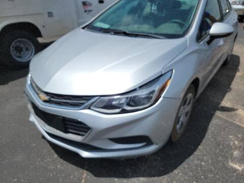 2016 Chevrolet Cruze for sale at STANLEY FORD ANDREWS in Andrews TX