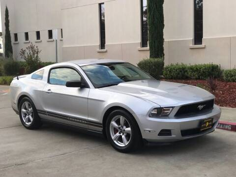 2011 Ford Mustang for sale at Auto King in Roseville CA