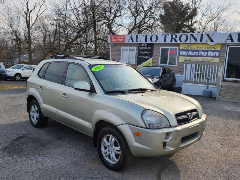 2008 Hyundai Tucson for sale at Auto Tronix in Lexington KY