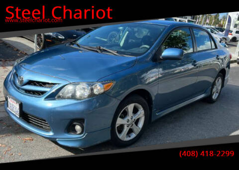 2013 Toyota Corolla for sale at Steel Chariot in San Jose CA
