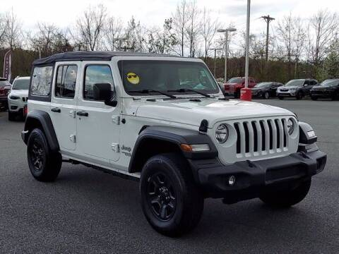 2019 Jeep Wrangler Unlimited for sale at NEWARK CHRYSLER JEEP DODGE in Newark DE