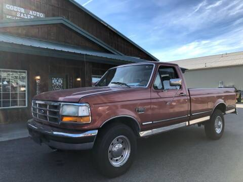 1995 Ford F-250 for sale at Coeur Auto Sales in Hayden ID