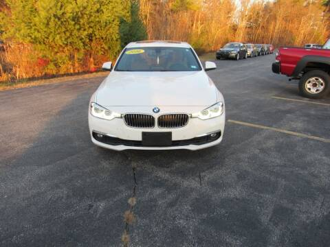 2016 BMW 3 Series for sale at Heritage Truck and Auto Inc. in Londonderry NH