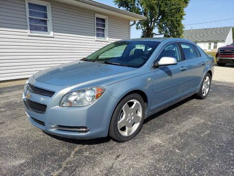 2008 Chevrolet Malibu for sale at CALDERONE CAR & TRUCK in Whiteland IN