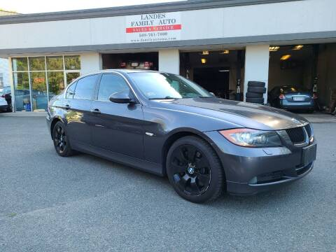 2008 BMW 3 Series for sale at Landes Family Auto Sales in Attleboro MA
