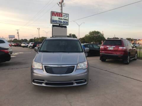 2013 Chrysler Town and Country for sale at MB Auto Sales in Oklahoma City OK