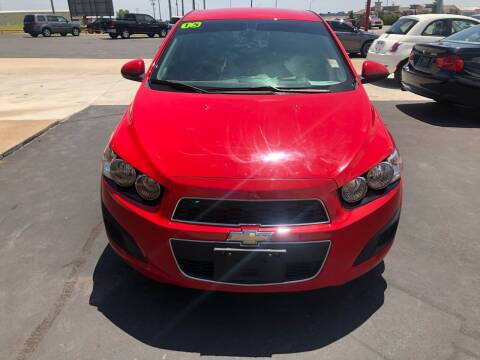 2015 Chevrolet Sonic for sale at Moore Imports Auto in Moore OK