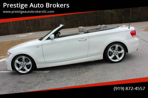 2008 BMW 1 Series for sale at Prestige Auto Brokers in Raleigh NC