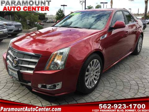 2010 Cadillac CTS for sale at PARAMOUNT AUTO CENTER in Downey CA
