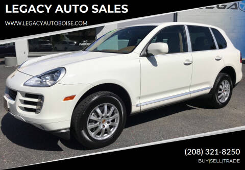 2008 Porsche Cayenne for sale at LEGACY AUTO SALES in Boise ID