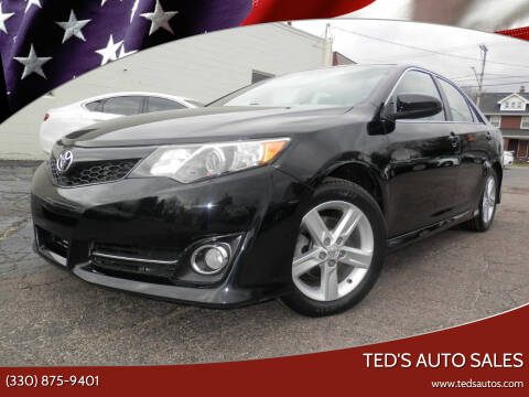 2014 Toyota Camry for sale at Ted's Auto Sales in Louisville OH