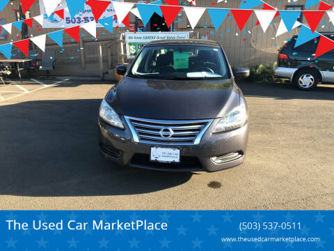2014 Nissan Sentra for sale at The Used Car MarketPlace in Newberg OR