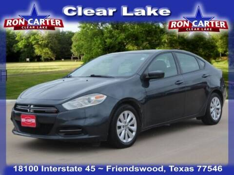 2014 Dodge Dart for sale at Ron Carter  Clear Lake Used Cars in Houston TX