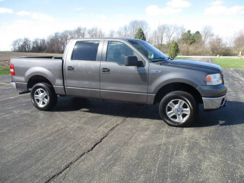2006 Ford F-150 for sale at Crossroads Used Cars Inc. in Tremont IL