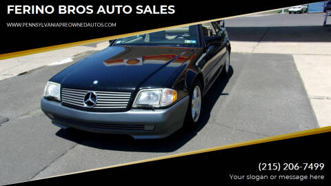 1995 Mercedes-Benz SL-Class for sale at FERINO BROS AUTO SALES in Wrightstown PA
