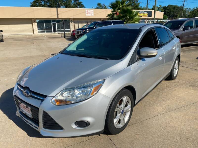 2013 Ford Focus for sale at Houston Auto Gallery in Katy TX