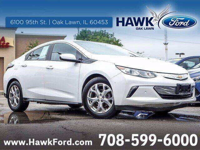 2018 Chevrolet Volt for sale at Hawk Ford of Oak Lawn in Oak Lawn IL