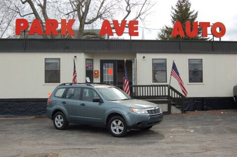 2010 Subaru Forester for sale at Park Ave Auto Inc. in Worcester MA