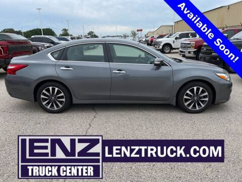 2016 Nissan Altima for sale at LENZ TRUCK CENTER in Fond Du Lac WI