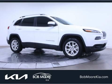 2018 Jeep Cherokee for sale at Bob Moore Kia in Oklahoma City OK