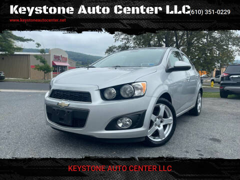 2013 Chevrolet Sonic for sale at Keystone Auto Center LLC in Allentown PA