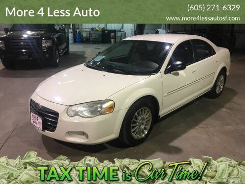 2004 Chrysler Sebring for sale at More 4 Less Auto in Sioux Falls SD