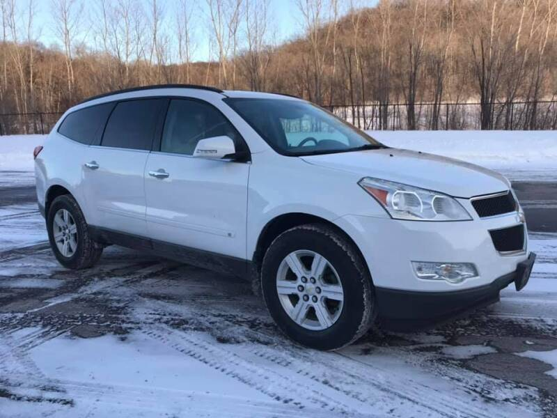 2010 Chevrolet Traverse for sale at Angies Auto Sales LLC in Newport MN