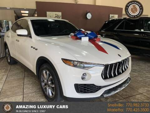2017 Maserati Levante for sale at Amazing Luxury Cars in Snellville GA