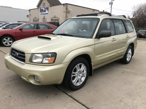 2004 Subaru Forester for sale at T & G / Auto4wholesale in Parma OH