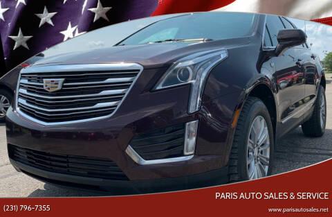 2017 Cadillac XT5 for sale at Paris Auto Sales & Service in Big Rapids MI