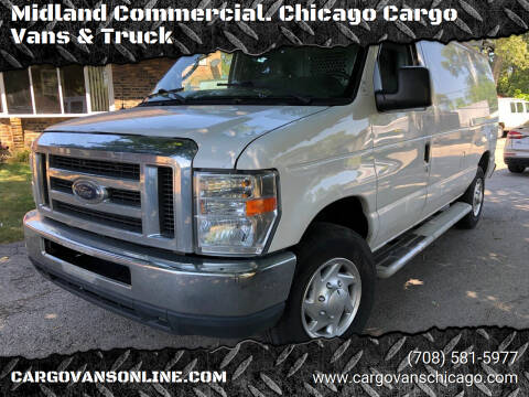 2011 Ford E-Series Cargo for sale at Midland Commercial. Chicago Cargo Vans & Truck in Bridgeview IL