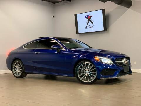 2017 Mercedes-Benz C-Class for sale at TX Auto Group in Houston TX