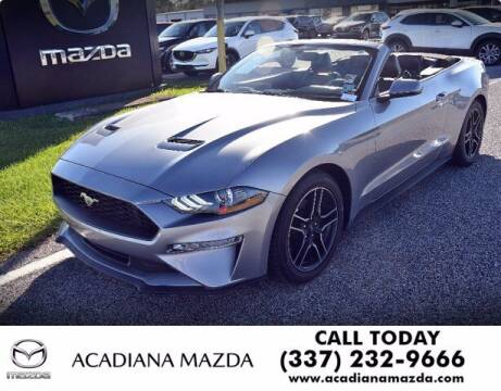 2020 Ford Mustang for sale at Acadiana Automotive Group in Lafayette LA