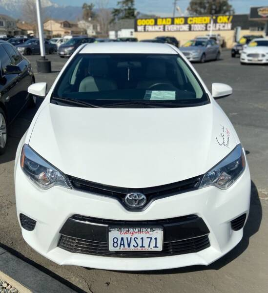 2016 Toyota Corolla for sale at Global Auto Group in Fontana CA