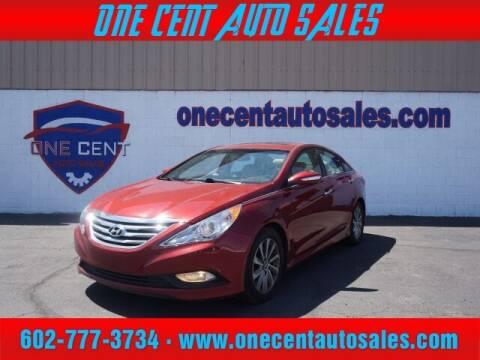 2014 Hyundai Sonata for sale at One Cent Auto Sales in Glendale AZ