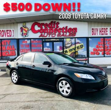 2009 Toyota Camry for sale at Credit Connection Auto Sales in Midwest City OK