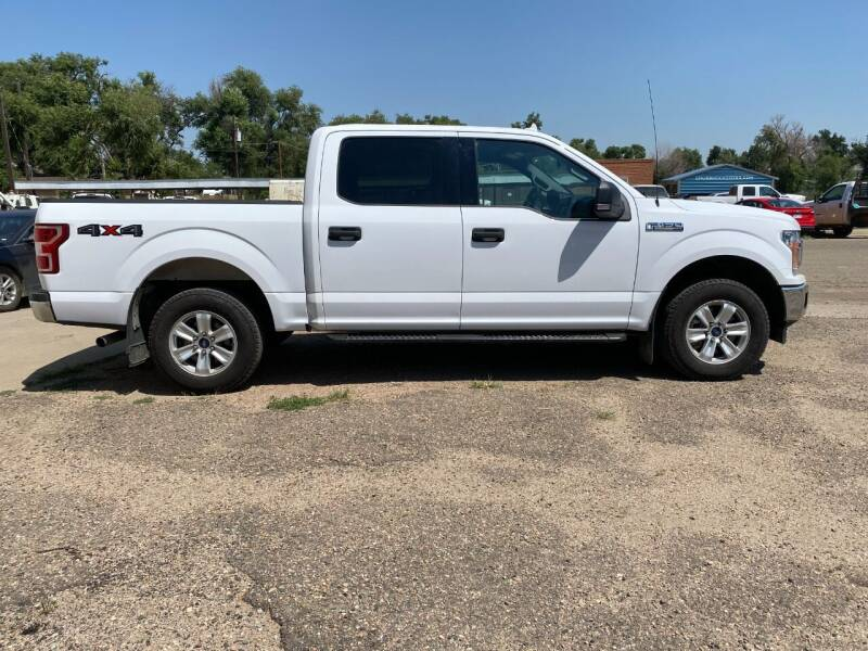 2018 Ford F-150 for sale at Chubbuck Motor Co in Ordway CO