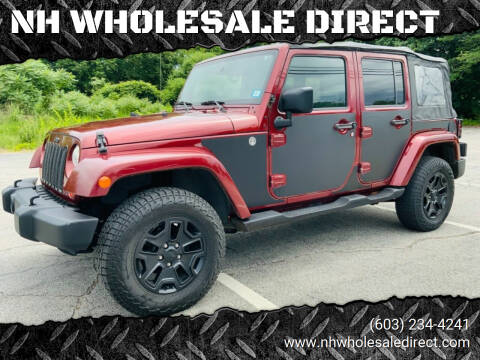 2007 Jeep Wrangler Unlimited for sale at NH WHOLESALE DIRECT in Derry NH