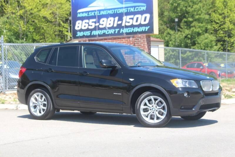 2013 BMW X3 for sale at Skyline Motors in Louisville TN
