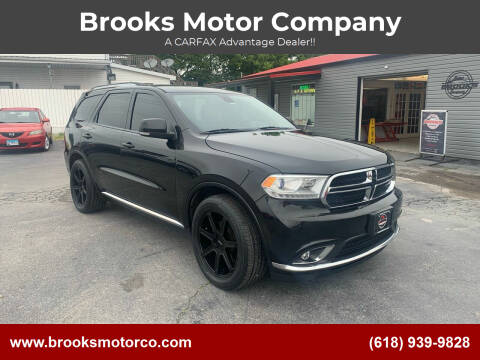 2015 Dodge Durango for sale at Brooks Motor Company in Columbia IL