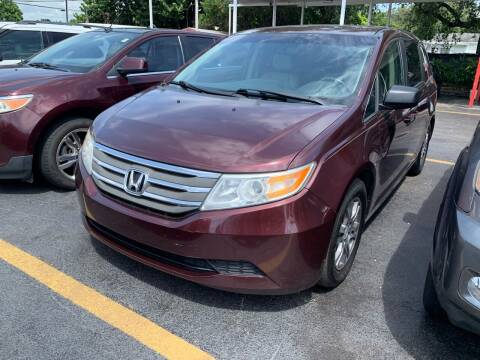 2012 Honda Odyssey for sale at America Auto Wholesale Inc in Miami FL