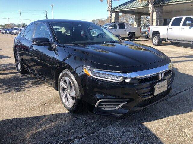 2019 Honda Insight for sale at Rabeaux's Auto Sales in Lafayette LA