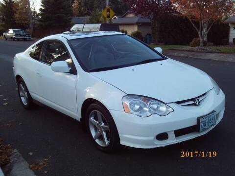 2003 Acura RSX for sale at Redline Auto Sales in Vancouver WA
