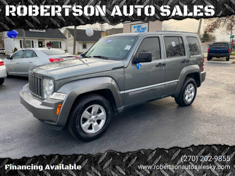 2012 Jeep Liberty for sale at ROBERTSON AUTO SALES in Bowling Green KY