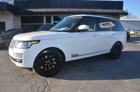 2015 Land Rover Range Rover for sale at Amyn Motors Inc. in Tucker GA