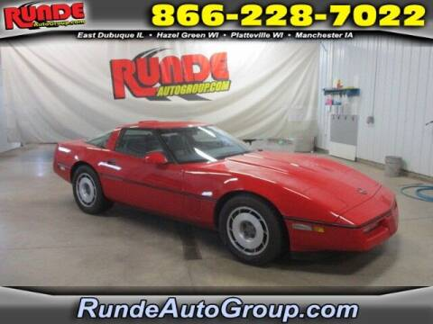 1987 Chevrolet Corvette for sale at Runde Chevrolet in East Dubuque IL