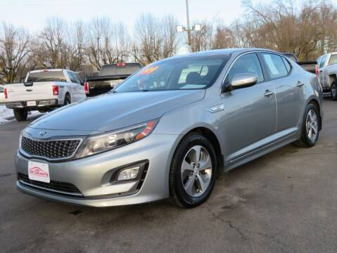 2015 Kia Optima Hybrid for sale at Low Cost Cars North in Whitehall OH
