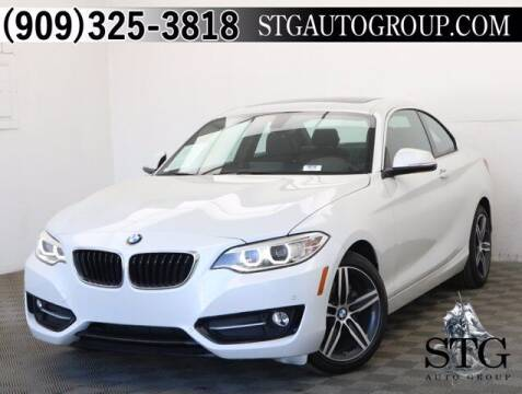 2017 BMW 2 Series for sale at STG Auto Group in Montclair CA
