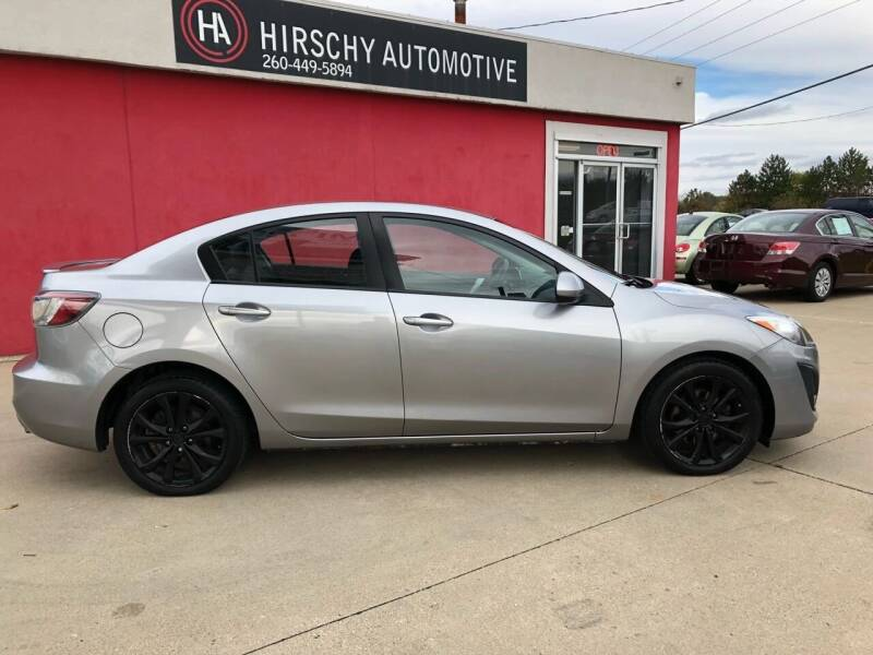 2010 Mazda MAZDA3 for sale at Hirschy Automotive in Fort Wayne IN