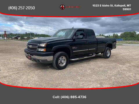 2005 Chevrolet Silverado 2500HD for sale at Auto Solutions in Kalispell MT